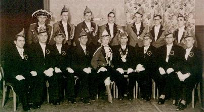 Erstes Vereinsbild aus dem Jahre 1955